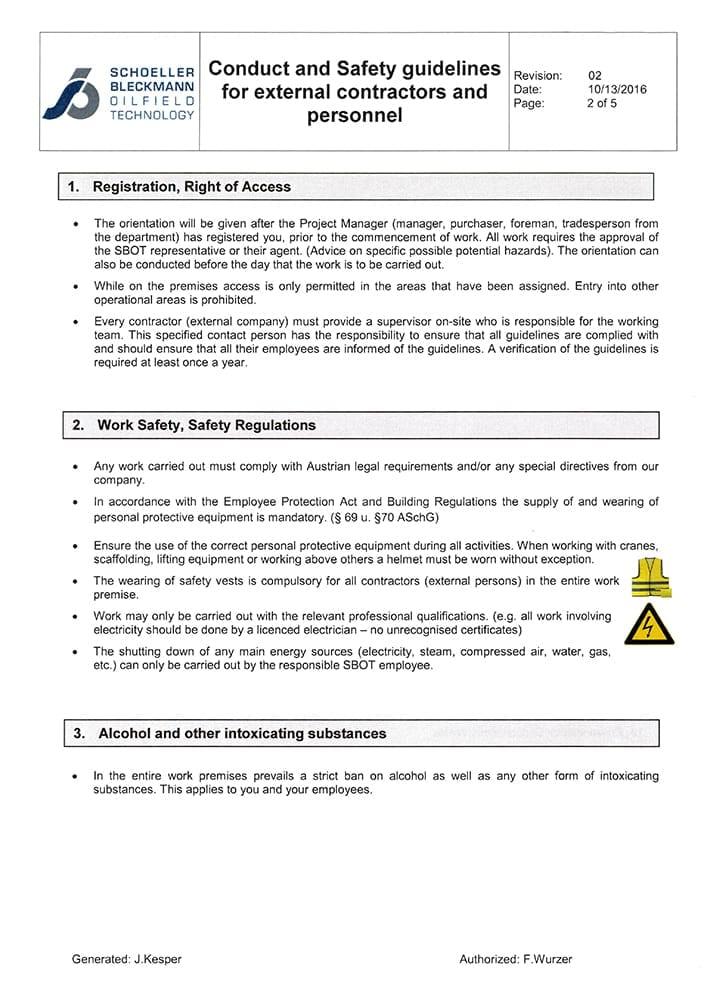 SafetyGuideline